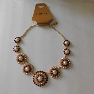 Monet Pear Tower Necklace